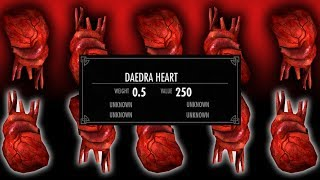 Skyrim - How to Get Unlimited Daedra Hearts for Free! (Fast & Easy)