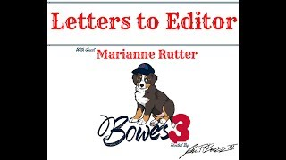 Letters to Editor with Marianne Rutter