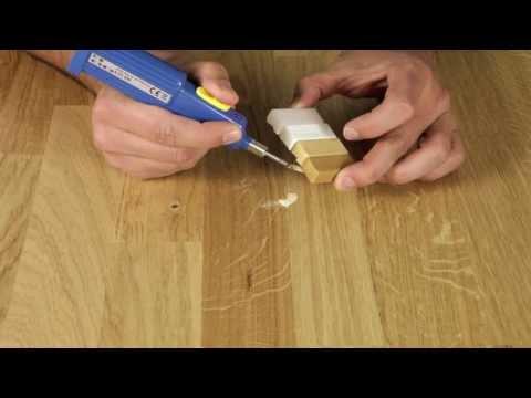 picobello // Reparatur-Sets für Holz - DIY Reparatur Kratzer Löcher Kantenschaden Parkett Laminat