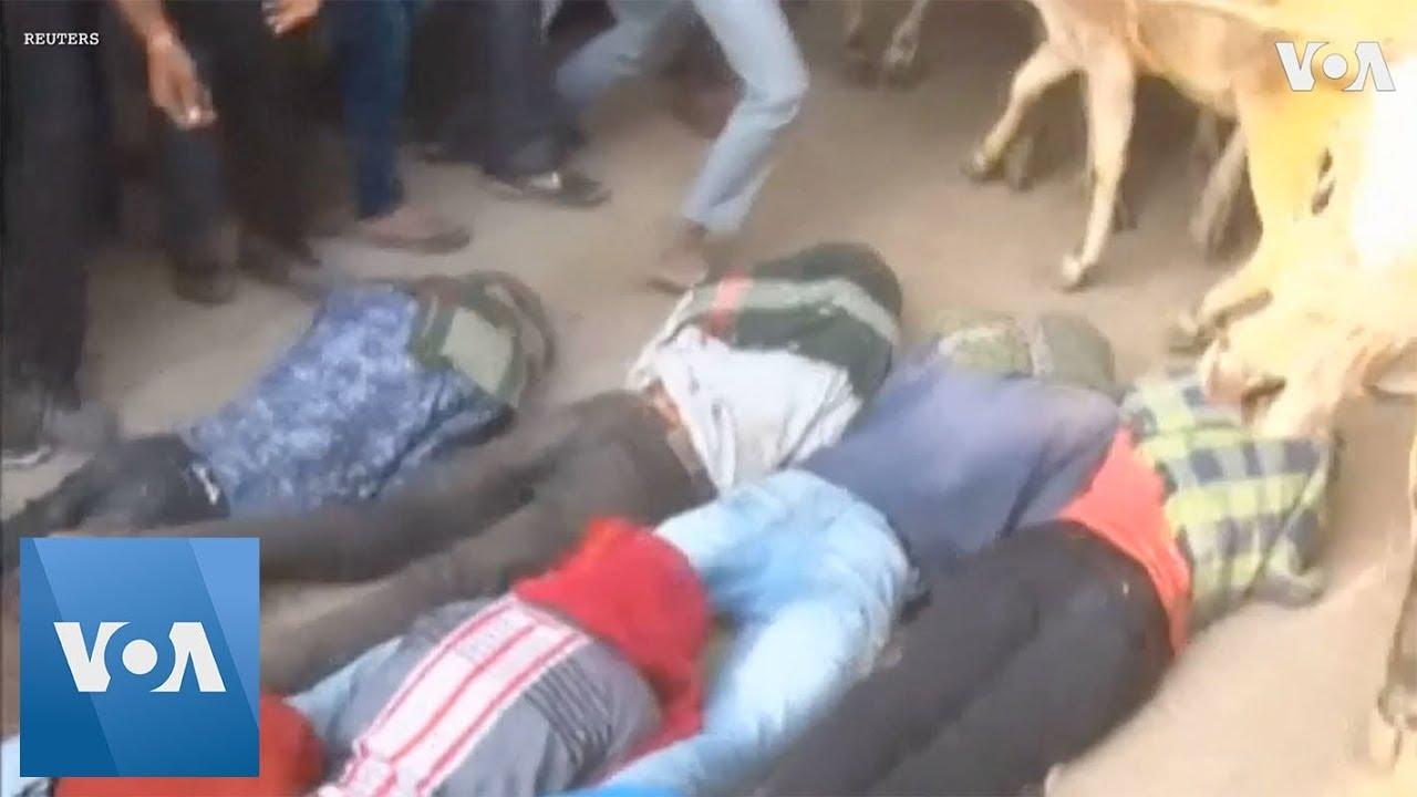 Ритуал топтания людей коровами - обычай, приносящий удачу