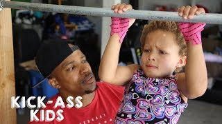 5-Year-Old CrossFitter Can Deadlift Double Her Weight | KICK-ASS KIDS
