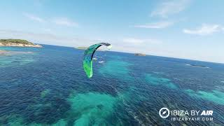 Kitesurf Cala Martina FPV - Ibiza by Air