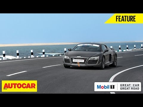 Mobil1 Presents Great Car Great Roads | Audi R8 LMX | Autocar India