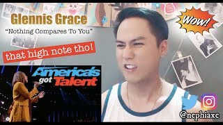 Glennis Grace - Nothing Compares To You | AGT Judges' Cut | REACTION