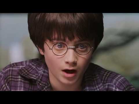 Harry Potter can't blink
