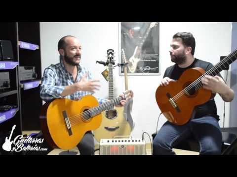 Diferencias entre Guitarra Acústica vs electroacústica Yamaha C40 vs CX40