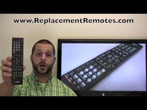 YAMAHA RAV283 Audio/Video Receiver Remote Control
