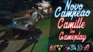 CAMILLE TOP GAMEPLAY - O CAMPEÃO MAIS FODA QUE A RIOT JÁ FEZ ! - League of Legends - [ PT-BR ]