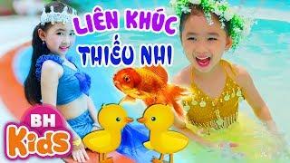 Liên Khúc Con Vật Bé Thích ♫ Cá Vàng Bơi, Một Con Vịt ✿ Candy Ngọc Hà - Thần Đồng Âm Nhạc Nhí