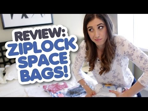 Review: Ziploc Space Bags (Travel Cubes)
