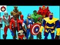 Download Video Marvel Avengers Guardians of the Galaxy Superheroes Toys - Captain America Iron Man Hulk Spider Man