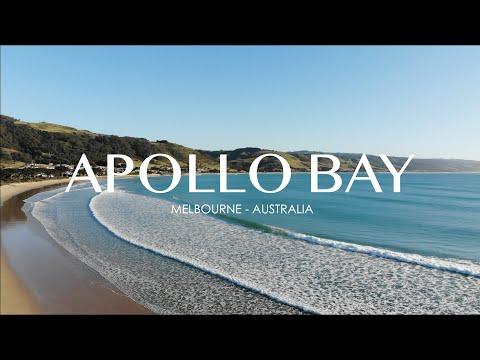 Drone footage of Apollo Bay