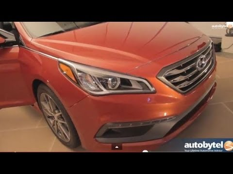 2015 Hyundai Sonata Sneak Preview at the New York Auto Show