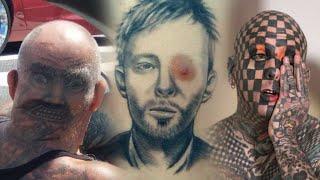 Blogiausios žmonių tatuiruotės