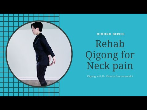 Qigong Exercise for Neck Pain (King/Queen Arises from Throne)