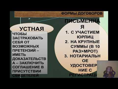 Современное Российское законодательство