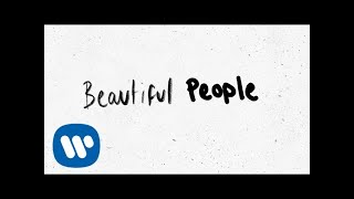 Ed Sheeran   Beautiful People (feat. Khalid) [Official Lyric Video]