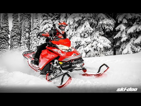 2019 Ski-Doo Renegade X 850 E-TEC Ice Ripper XT 1.25 in Augusta, Maine - Video 1