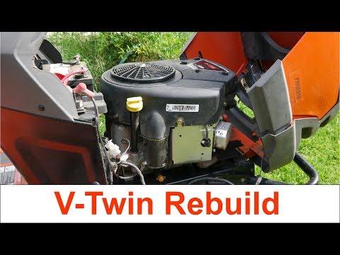 Briggs & Stratton Intek 23hp V-Twin Teardown and Rebuild