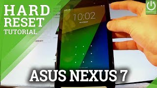 asus nexus password recovery