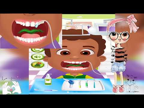 Dentist Office Salon Party| العاب بنات و العاب اولادالعاب اطفال  وبيبي عند طبيب الاسنان اسم اللعبة