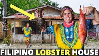BecomingFilipino – LOCAL FILIPINO LOBSTER HOUSE – Our Home In Davao – PHILIPPINES BEACH LAND LIFE