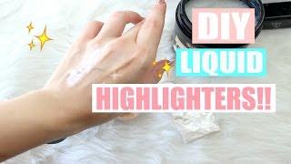 Tutorial DIY Liquid Highlighter Menggunakan Bahan Yang Aman