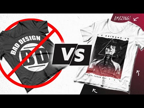 5 Tshirt Design Tips to go from Beginner to Pro Fast