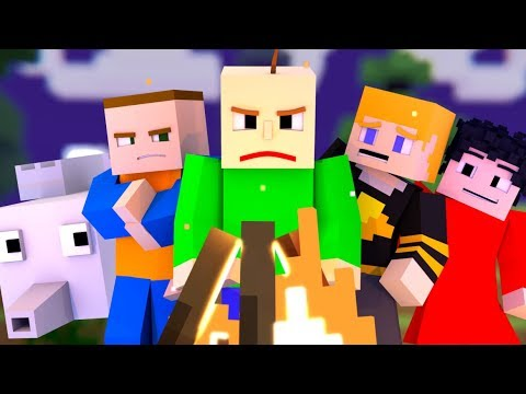 """BALDI'S FIELD TRIP - THE MUSICAL"" Minecraft Music Video 