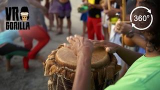 Drum Circle in Salvador, Brazil (360 VR Video)
