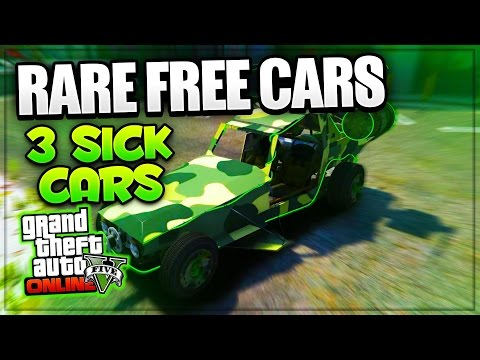 GTA 5 Online ''FREE RARE CARS'' 1.34/1.29! 3 Cool Secret Cars Some STORABLE PS4/XB1/PS3/Xbox 360