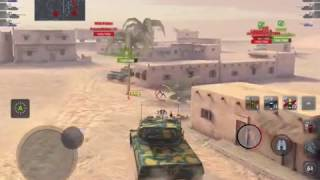 World of Tanks Blitz - AMX 50 B: morning solo yolo