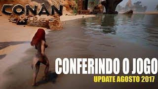 Conan Exiles (PC) - Conferindo o game! (Nova expansão|Update)