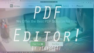 How to Read, Annotate and Edit PDFs Text and Images!!