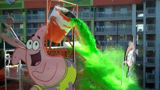 Slime Time at the Nickelodeon Hotel Orlando Florida