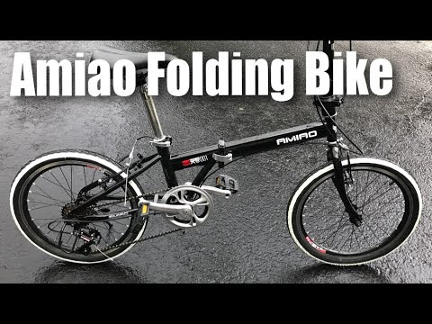 Amiao 6 Speed Derailleur Folding Bike with 20″ wheels review