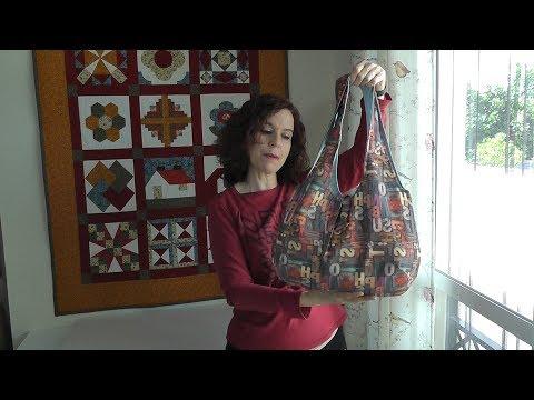 Cómo hacer un bolso reversible - PATRÓN GRATIS