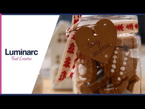 [DIY Gift Idea] Christmas Shortbread With Luminarc