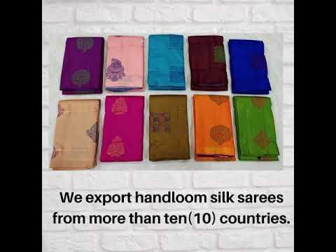 Handwoven Kanchipuram Silk Sarees