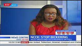 ANALYST: NCCK urges end to stalemate on poll