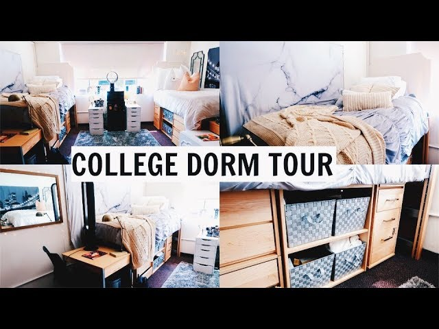 COLLEGE DORM ROOM TOUR 2018 l Olivia Jade