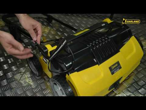 Peinadora / barredora césped artificial Garland COMBER 502 E-V19