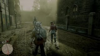 Red Dead Redemption 2 Exposing A Fake Beggar