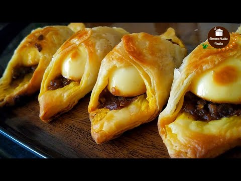 Egg Puff Without Oven Puff Pastry Recipe