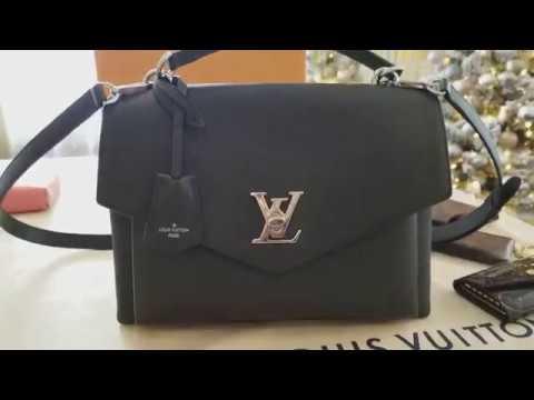 Louis  Vuitton  MY LOCKME  bag review LV bag review