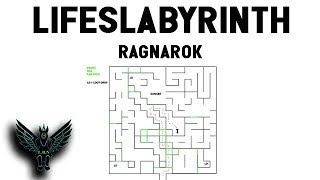 Ragnarok Labyrinth Cave Quick Run With Map Of Labyrinth.