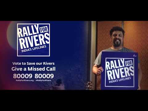 Raghu Dixit Supports Rally For Rivers