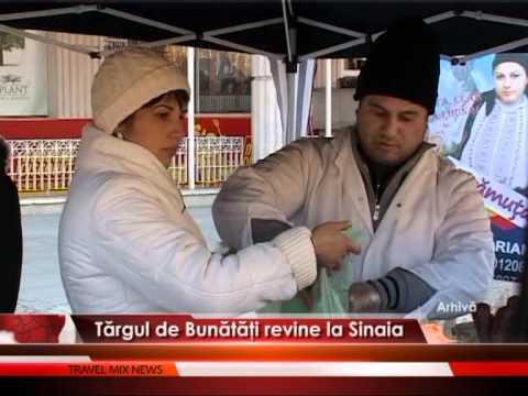 Tărgul de Bunătăţi revine la Sinaia