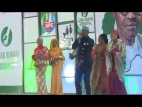 Taron Aisha Buhari Da Yan Masana'antar Film Din Hausa