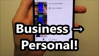 Instagram How to Remove Business and Switch Back to Personal
